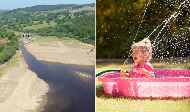 UK weather: May set to be driest on record as lockdown sees water firms experience huge demand