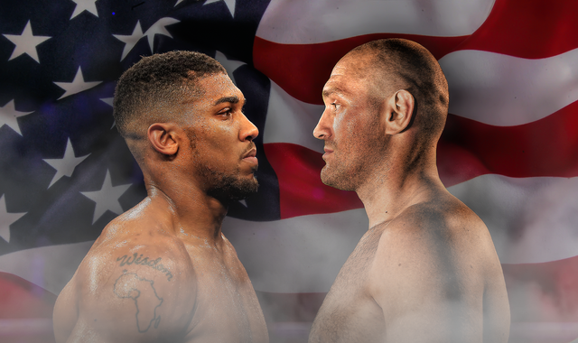 Anthony Joshua vs Tyson Fury in the US 'a big thing' but they can further 'build their profiles'