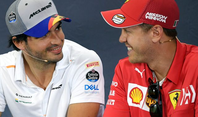 Ferrari Legends Vodcast: Felipe Massa's verdict on Sebastian Vettel, Carlos Sainz