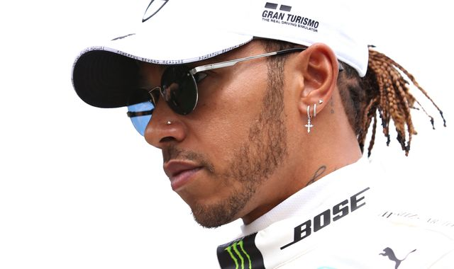 Lewis Hamilton hits out at F1 for 'silence' over George Floyd death