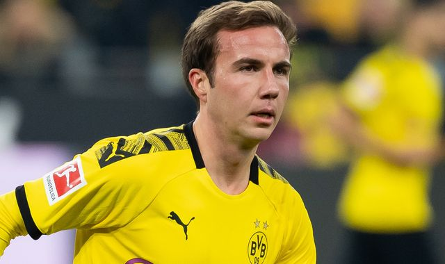 Mario Gotze to leave Borussia Dortmund this summer at end of contract