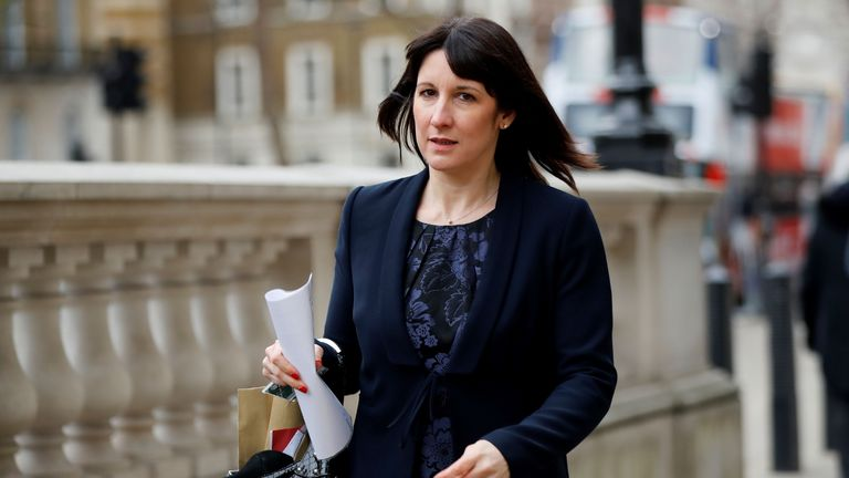 Labour MP Rachel Reeves arrives to attend a meeting at Cabinet Office on Whitehall in London on January 22, 2019. - Prime Minister Theresa May will seek further talks with Brussels to try to salvage her Brexit deal, but was accused of offering nothing new to break the political deadlock just 10 weeks before Britain leaves the EU. (Photo by Tolga AKMEN / AFP)        (Photo credit should read TOLGA AKMEN/AFP via Getty Images)