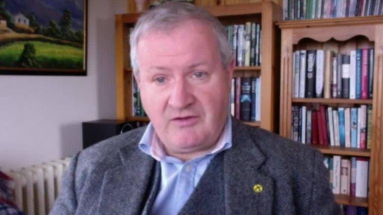 SNP Westminster leader Ian Blackford