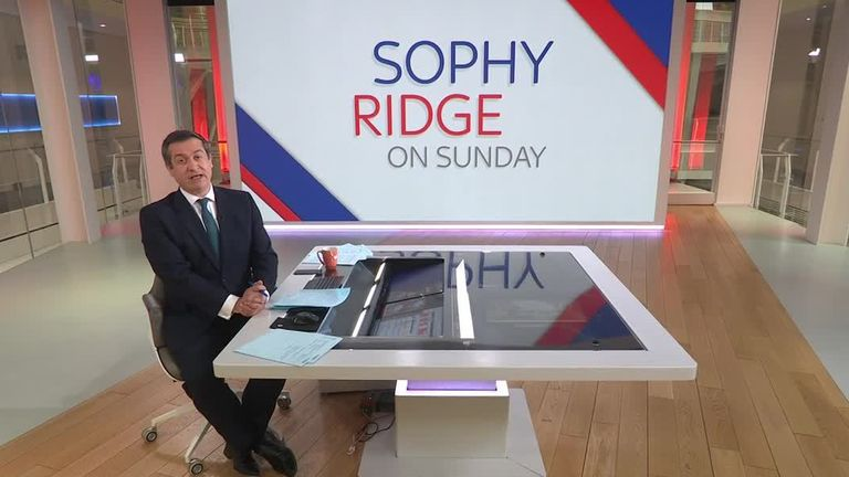 Niall Paterson stands in for Sophy Ridge