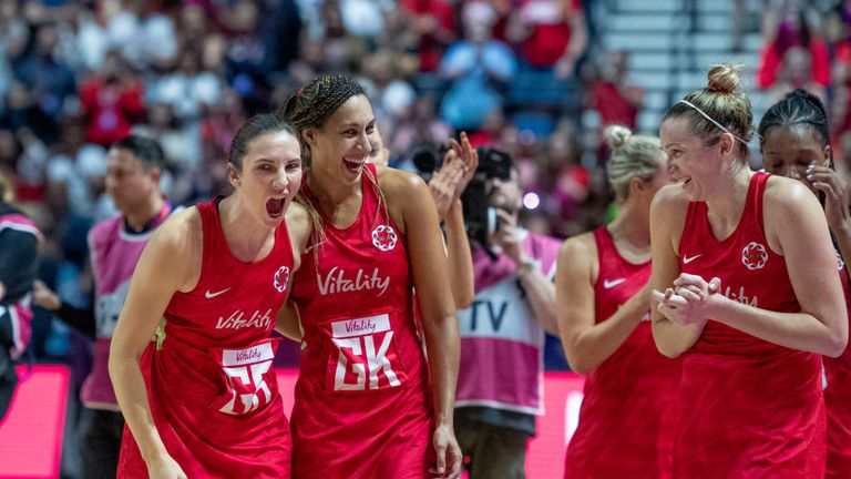 England's Rachel Dunn relives Netball World Cup magic with Sky Sports watchalong | Netball News