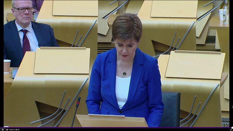 Scotland's plan for lockdown exit