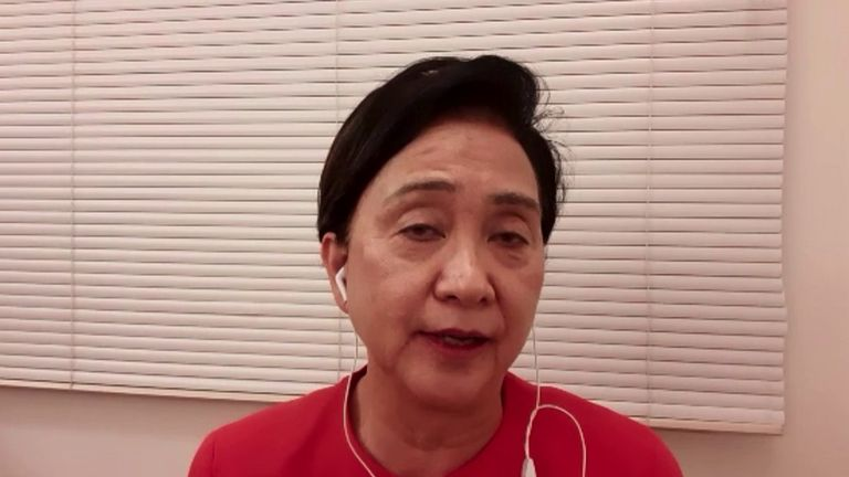 Former chair of Hong Kong's Democracy Party, Emily Lau calls on Boris Johnson and the international community to help stop China's controversial security bill.