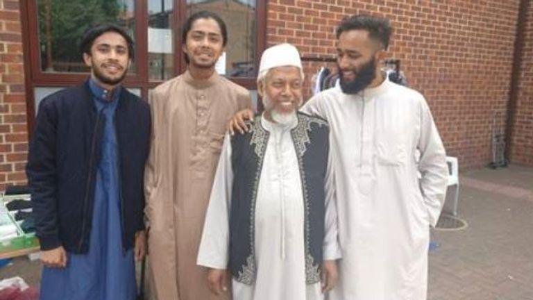 Aefiat Ullah – and his three sons