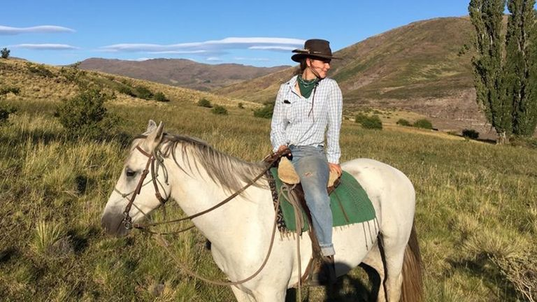 Annabel Symes found herself stranded on a remote ranch in Patagonia