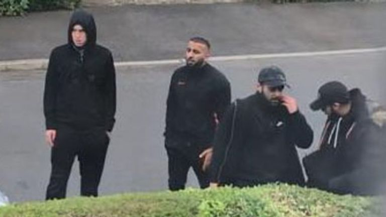 Police release images in connection with reports of men fighting with weapons, including bats and poles, in Northdown Road, Aspley, Nottingham, on Monday, 11 May, 2020. Picture: Nottinghamshire Police.