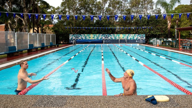 Public swimming pools are reopening as restrictions are eased across the country