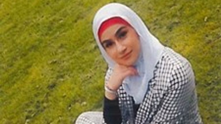 Aya Hachem, 19, died from a gunshot wound to the chest. Pic: Lancashire Police