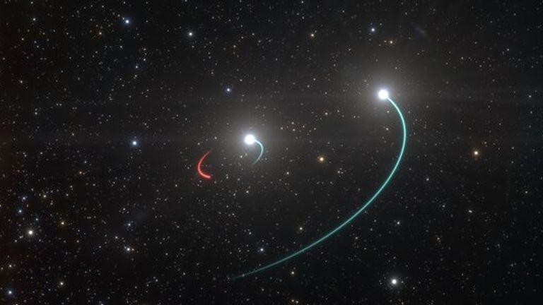Black hole. Pic: ESO