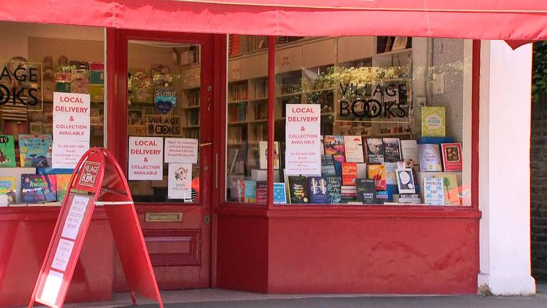 Local bookstores are facing difficulties during lockdown