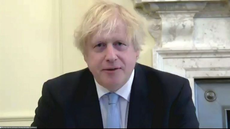 Boris Johnson appeared before the Liaison Committee of the House of Commons