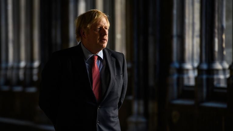 Boris Johnson paid tribute to Second World War veterans in a letter sent before VE Day