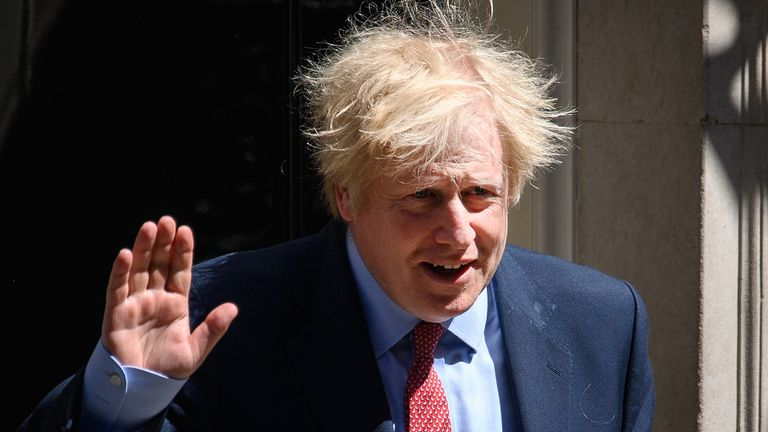 Boris Johnson has previously said there would be no checks on goods between Northern Ireland and Great Britain