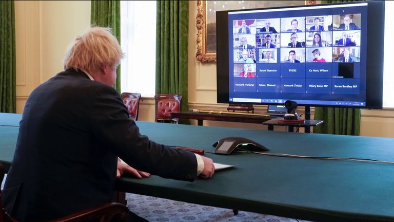 Boris Johnson faced the Liaison Committee of MPs