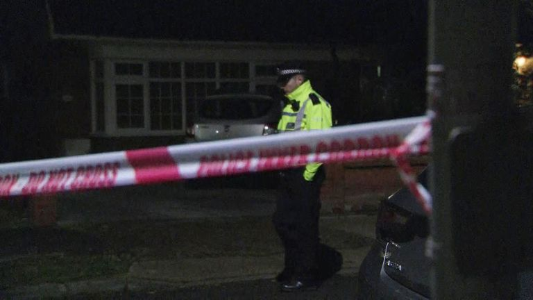 Boy, 11, shot and man found with head injuries in Upmister, east London