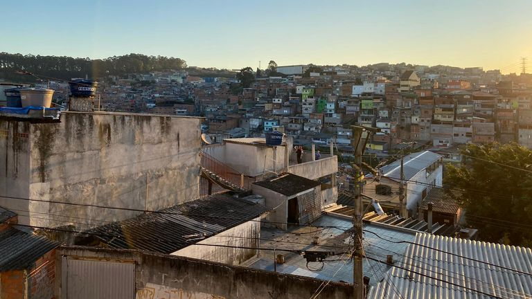 In the Brasilandia favela many are living in fear of the virus spreading quickly