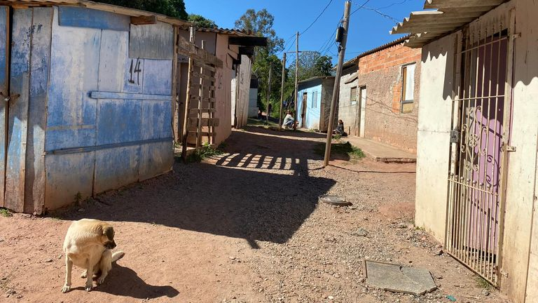 The 'Cartel' gang in Tiradentes favela have placed it on lockdown