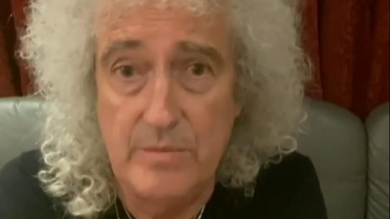 Rock legend Brian May told his followers of a recent heart attack and the stent surgery he opted for.