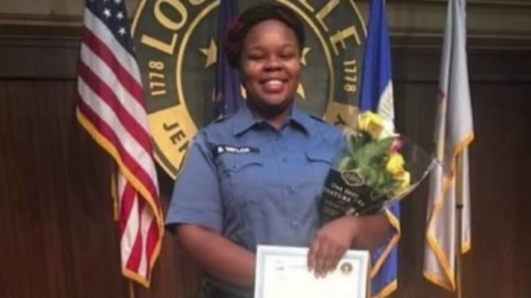 Breonna Taylor was a qualified EMT. Pic: Family