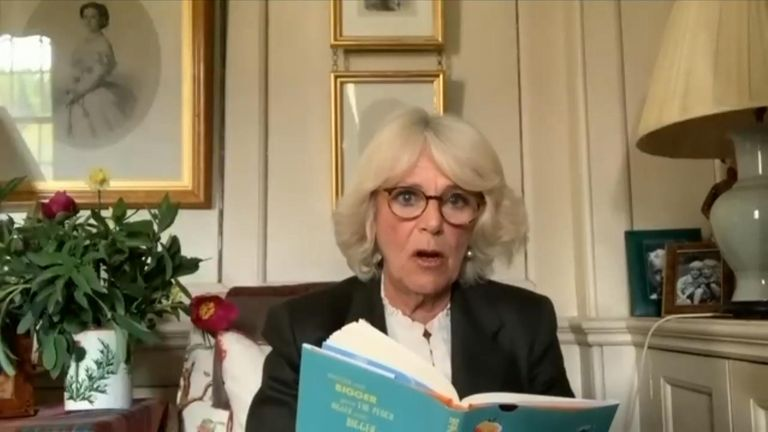 The Duchess of Cornwall is taking on her first ever character role since joining the royal family