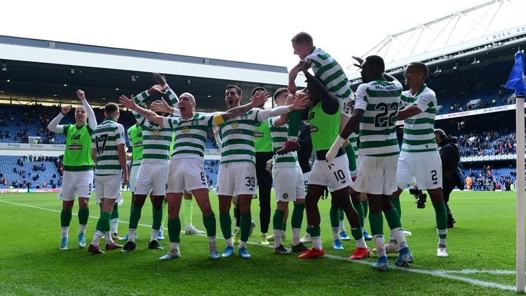 Celtic led the table when the season was suspended due to coronavirus