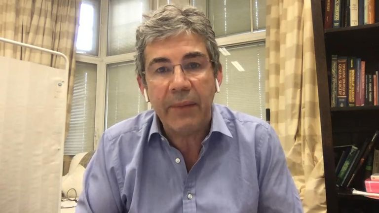 Dr David Nott on Sky News