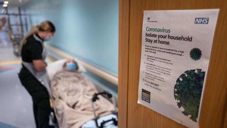 The UK remains under lockdown to combat coronavirus