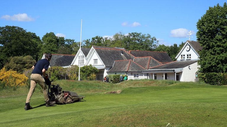 Golf courses are preparing to reopen for the first time in weeks