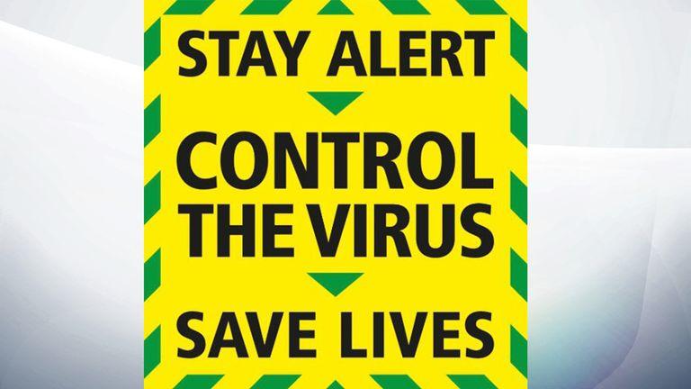 New government coronavirus slogan