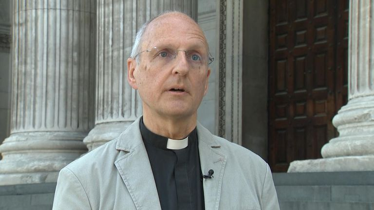 The Very Reverend Dr David Ison hopes the website will allow Britons to 'recall this huge event in our national life'