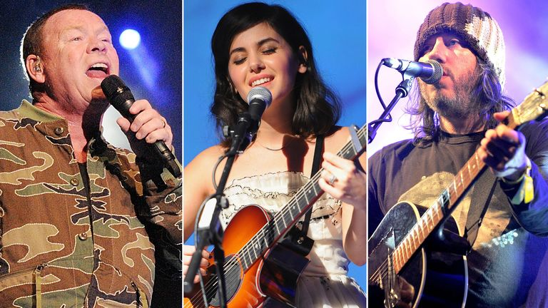 Ali Campbell, Katie Melua and Badly Drawn Boy