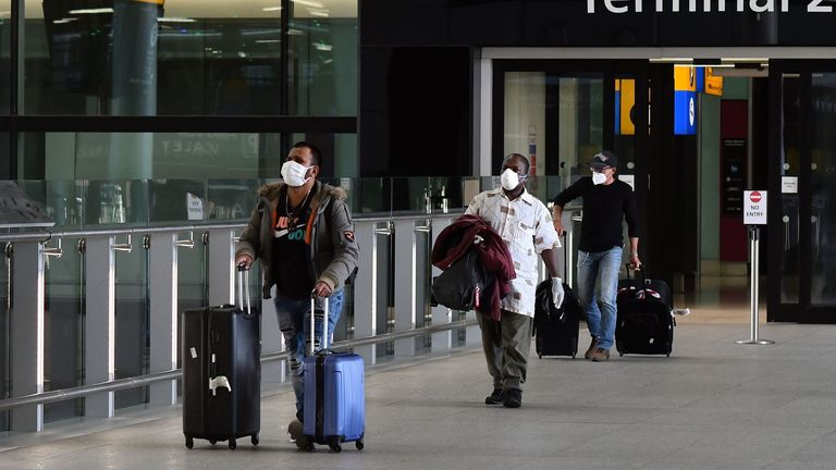 New arrivals to UK airports will have to self-isolate from 8 June