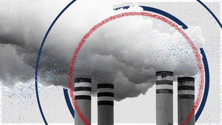 Air pollution has fallen around the world as countries lockdown.