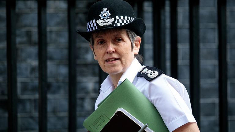 Cressida Dick has said violent crime is the Met Police's 'number one priority'