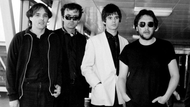File photo dated 06/07/80 of The Stranglers (left to right) Dave Greenfield, Hugh Cornwell, Jean-Jacques Burnel and Jet Black. The Stranglers� keyboard player Dave Greenfield has died at the age of 71 after testing positive for coronavirus.