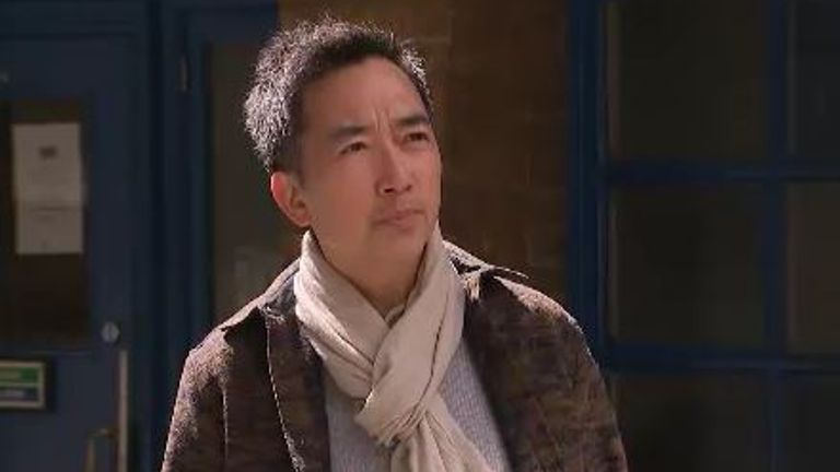David Tse said a woman in a London street told him: 'F*** your f*****g virus, take it home with you'