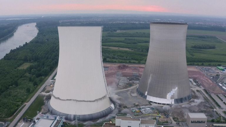 Germany  pulled the plug on the Philippsburg 2 power station on New Year's Eve 2019, in a further withdrawal from nuclear energy