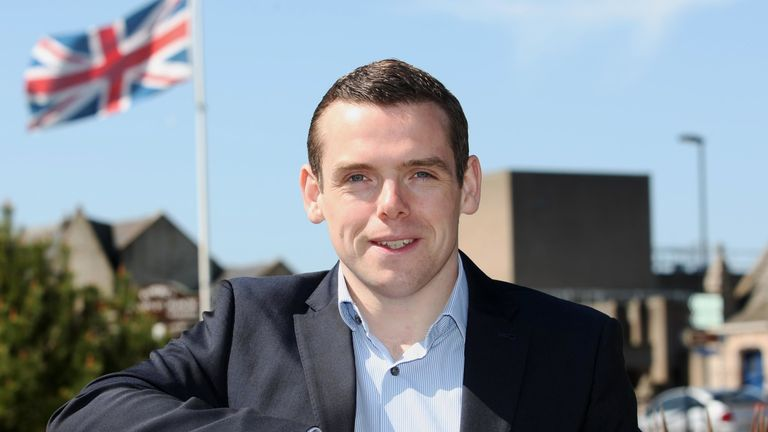 Douglas Ross in 2017. Pic: Peter Jolly/Shutterstock