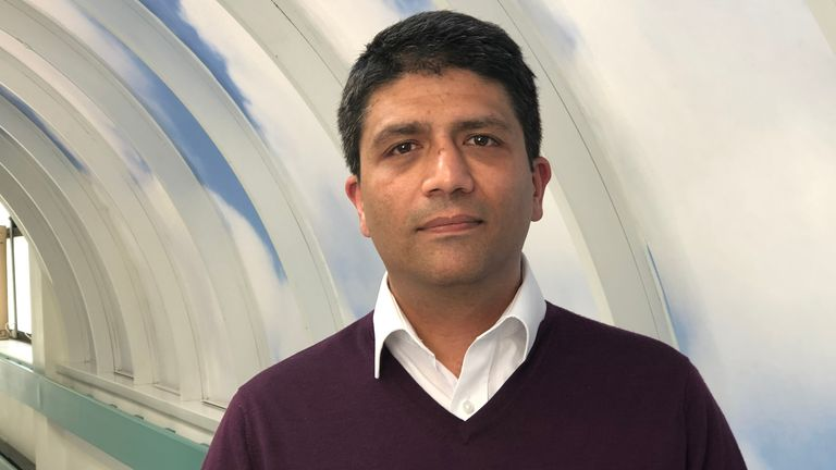 Dr Sanjiv Sharma says doctors are 'very worried' about the secondary effects of the outbreak