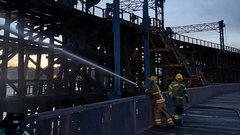 Dunston Staiths is a grade ll structure. Pic: Dunston Staiths fire restoration appeal/Facebook