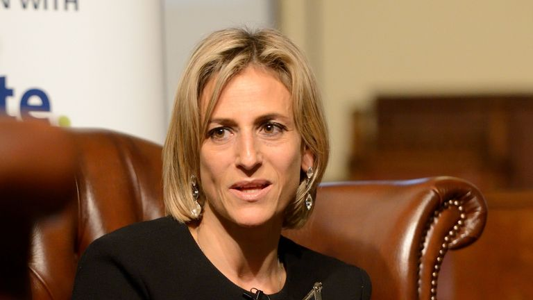 Emily Maitlis did not present Wednesday's show