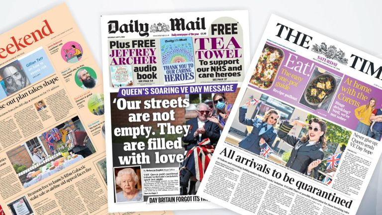 09/05/20 Front pages