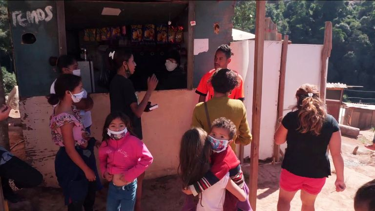 Brazil's poorest do their best to stay safe from coronavirus