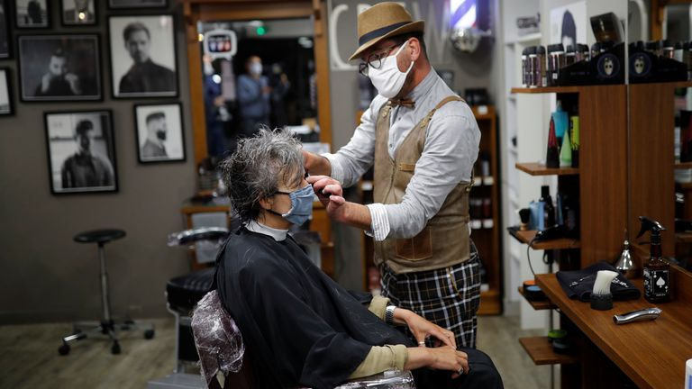 French salons have reopened but will not allow walk-in clients