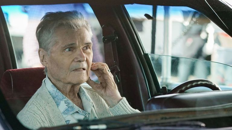 Willard as Frank Dunphy in the latest season of Modern Family