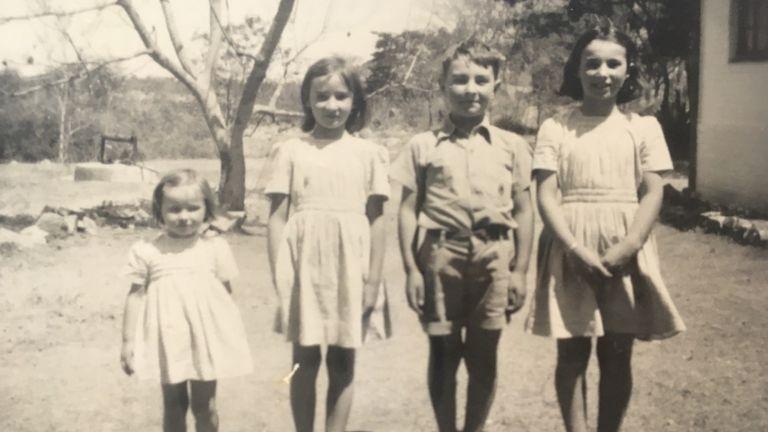 Freda Hodgson's children